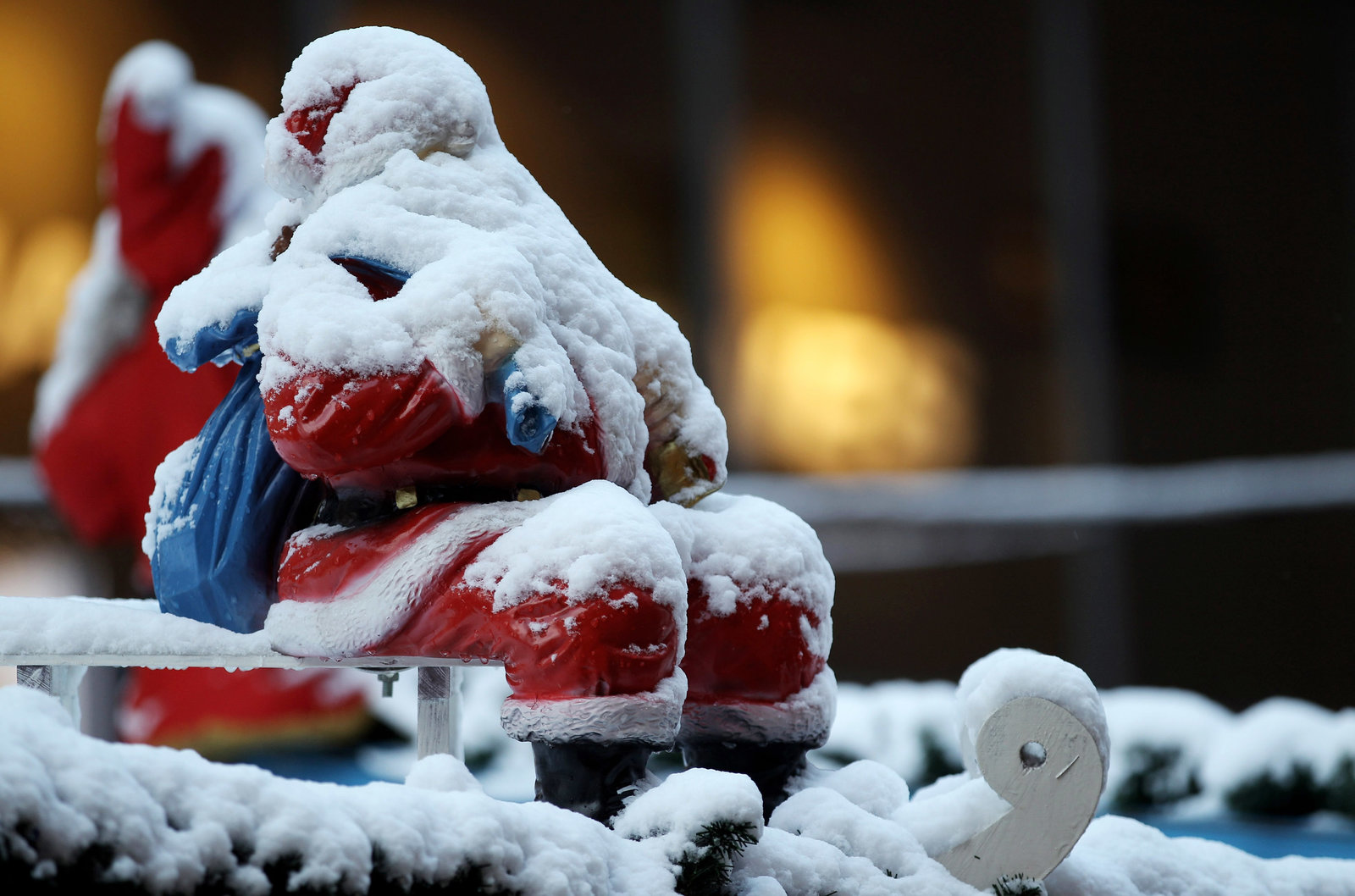 White Christmas in Germany used to be a foregone conclusion
