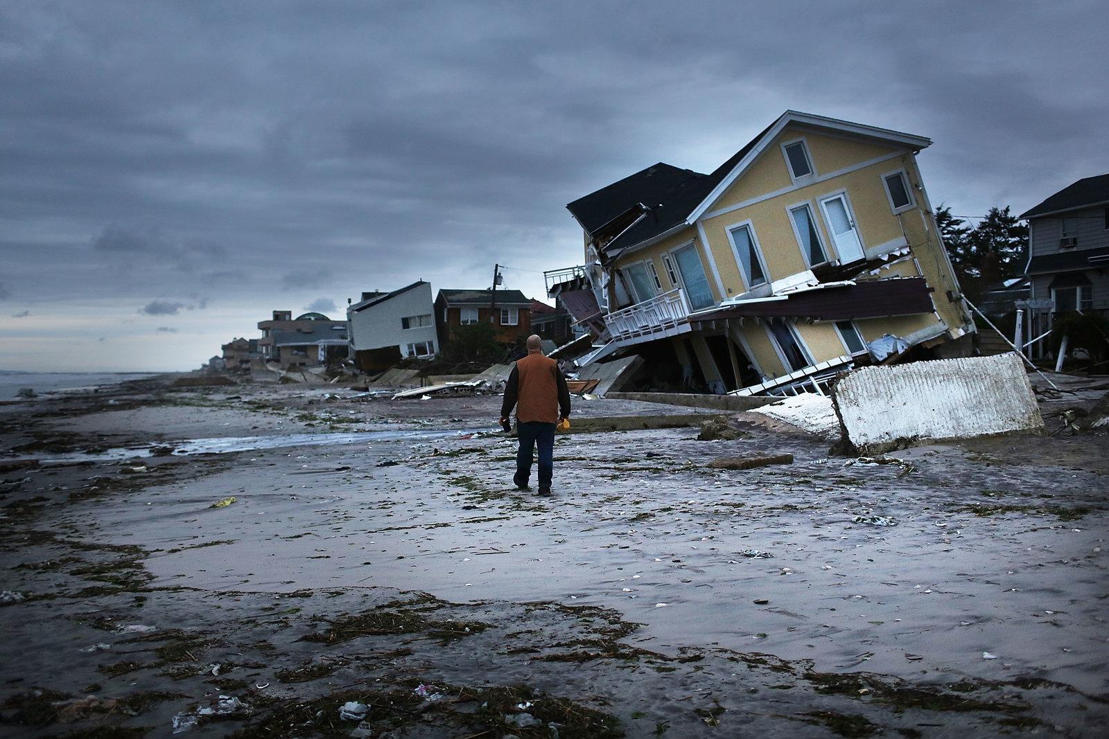 Superstorm Sandy devastated the New York neighborhoods of the Rockaways