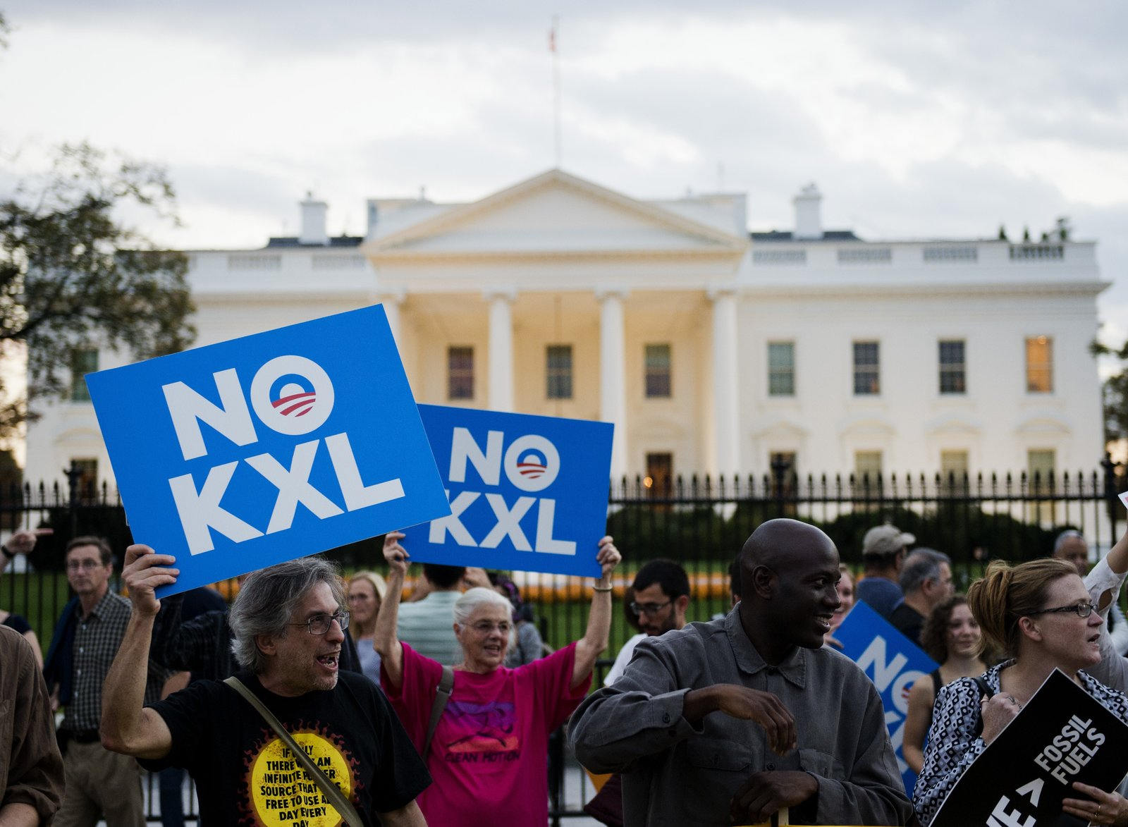 Anti-Keystone XL activists may be making their way back to the White House