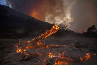 California's Sand Fire burned more than 20,000 acres in 2016