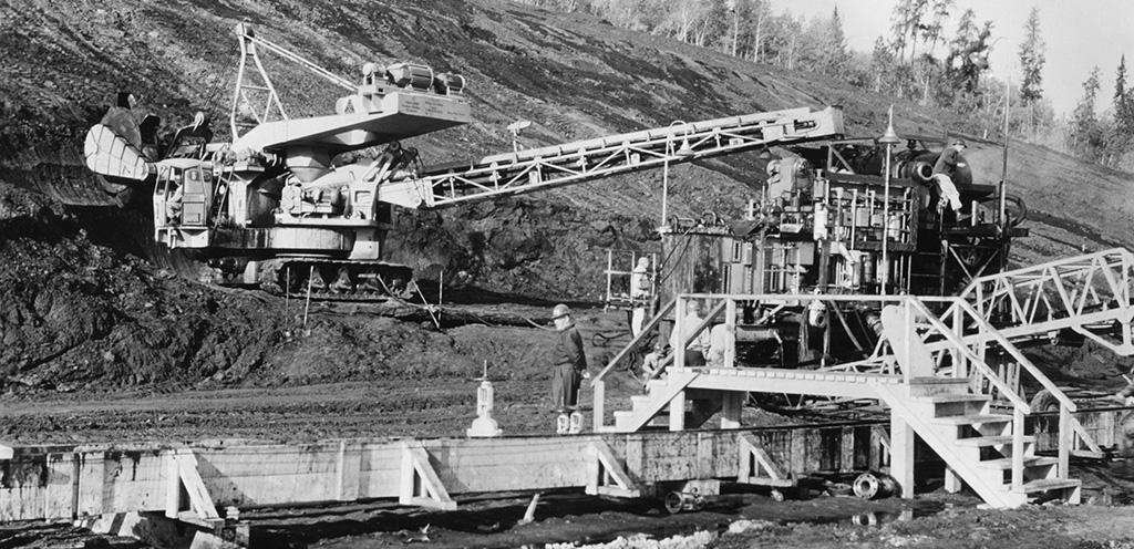 Exxon climate investigation oil sands archival photo