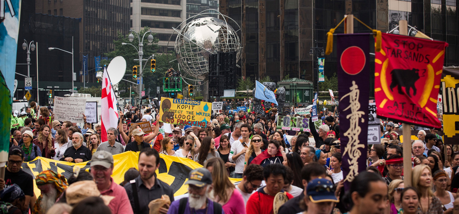 People's Climate March filled New York City streets in 2014