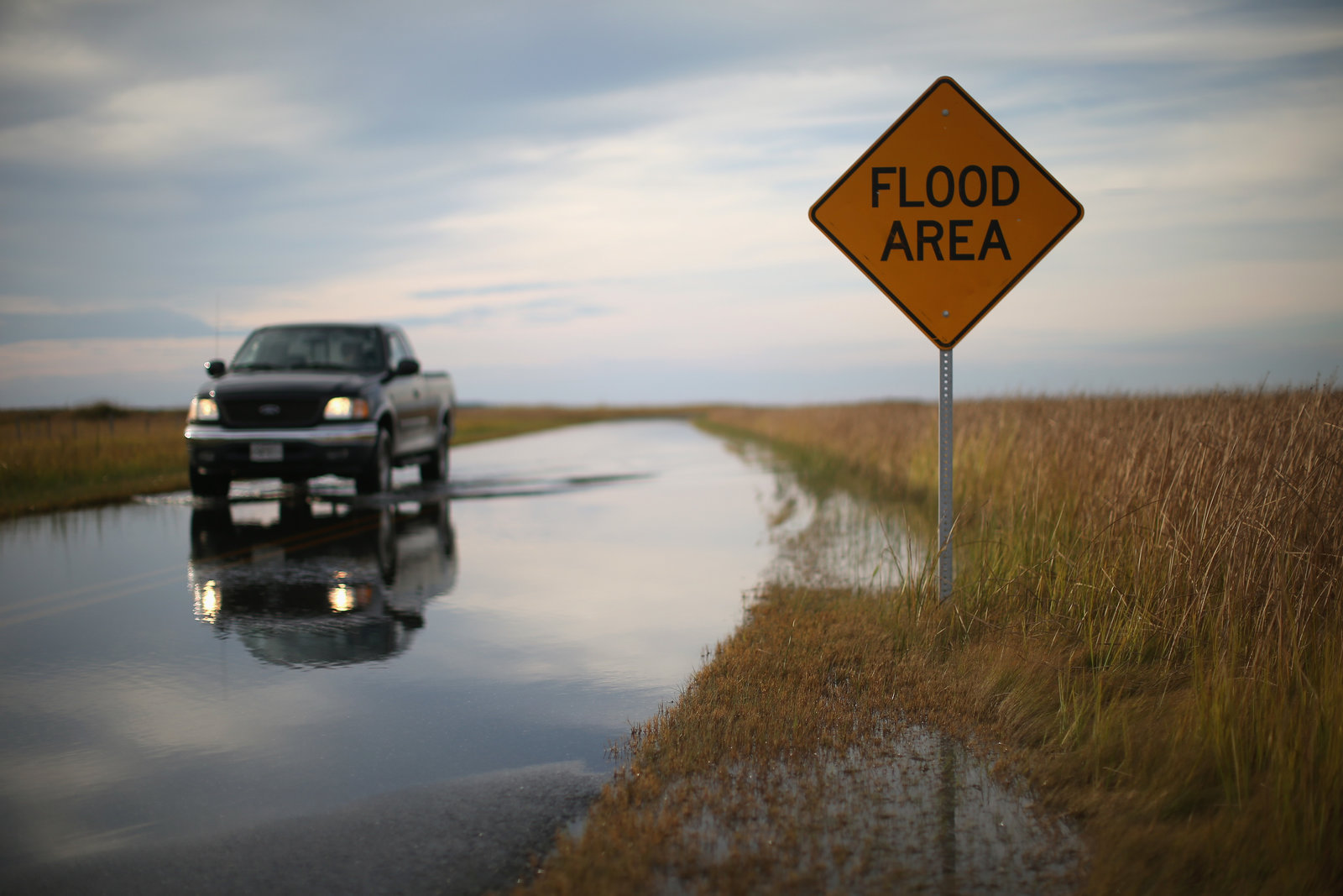 Places like Robbins, Md., are already struggling with sea level rise