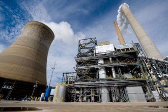 Carbon capture project at a coal plant in West Virginia