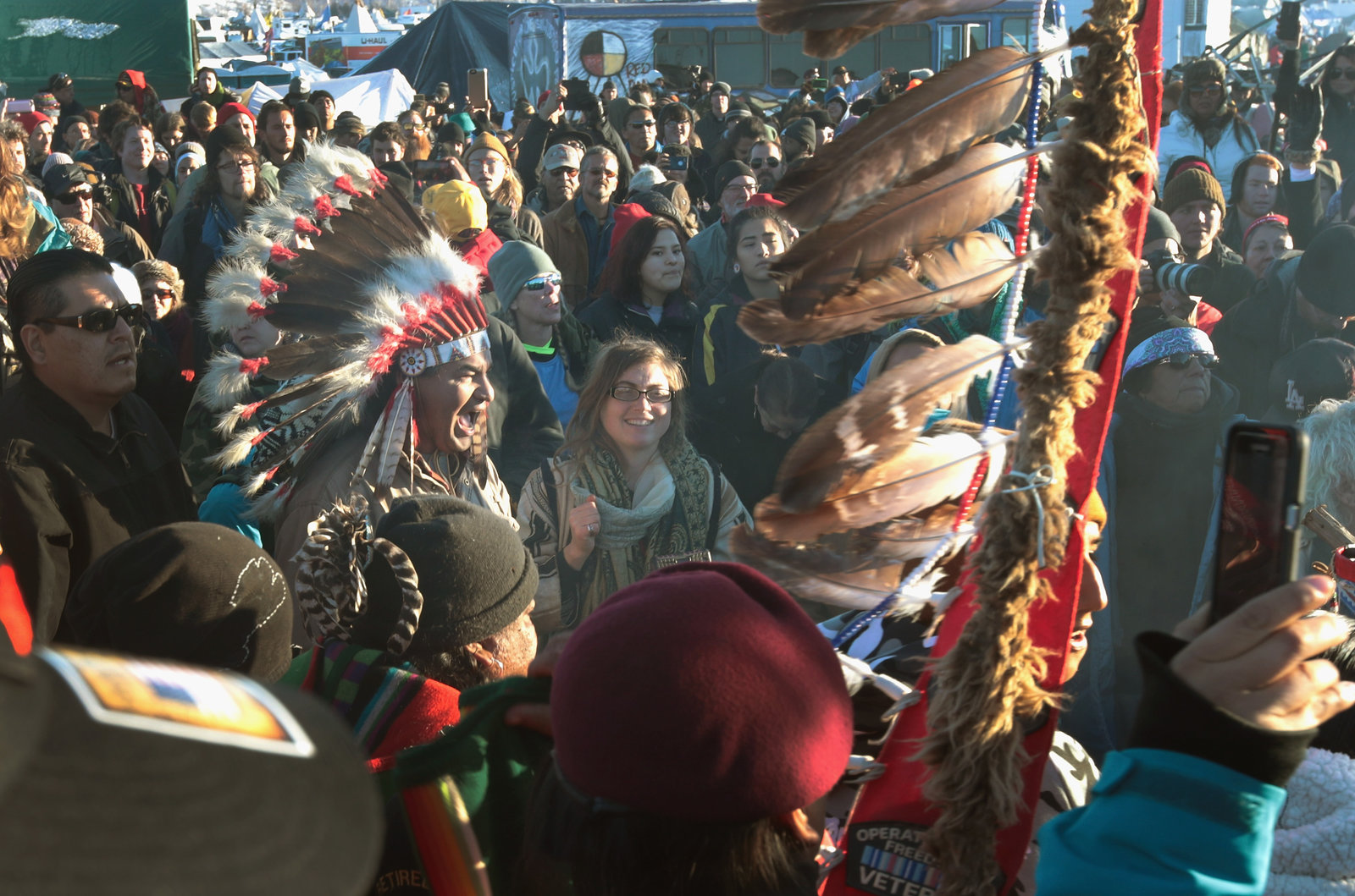 Successful Dakota Access pipeline protest has inspired other Native American tribes