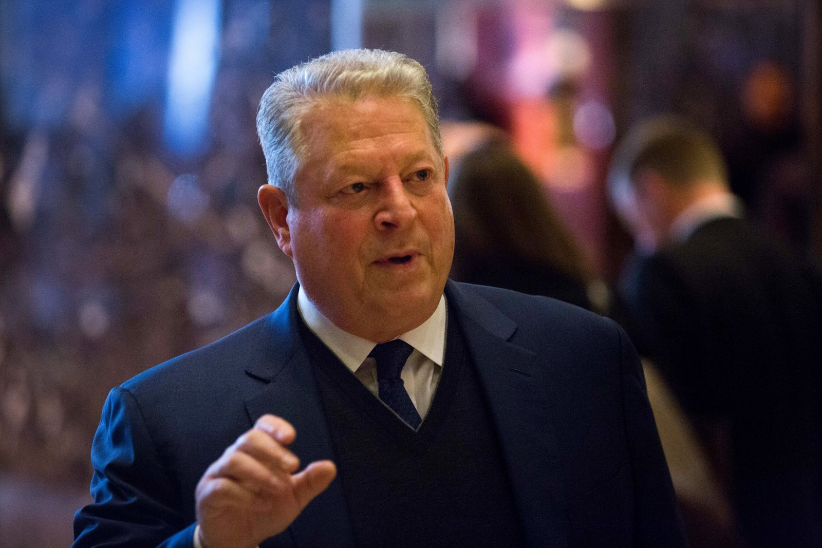 Al Gore helped organize a new climate-health summit
