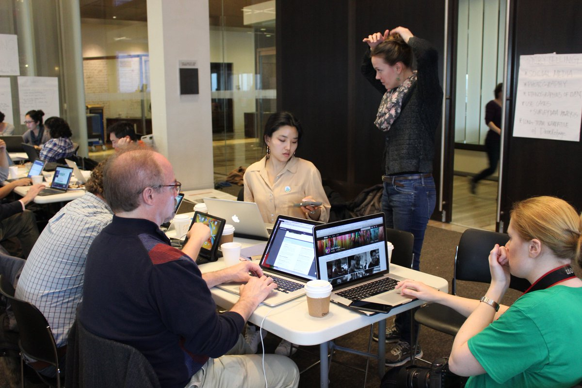 Volunteers gathered at the University of Pennsylvania to archive climate data