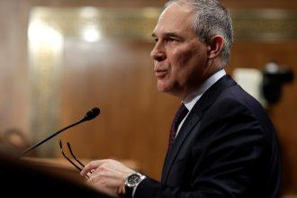 Scott Pruitt's nomination as EPA chief has drawn opposition