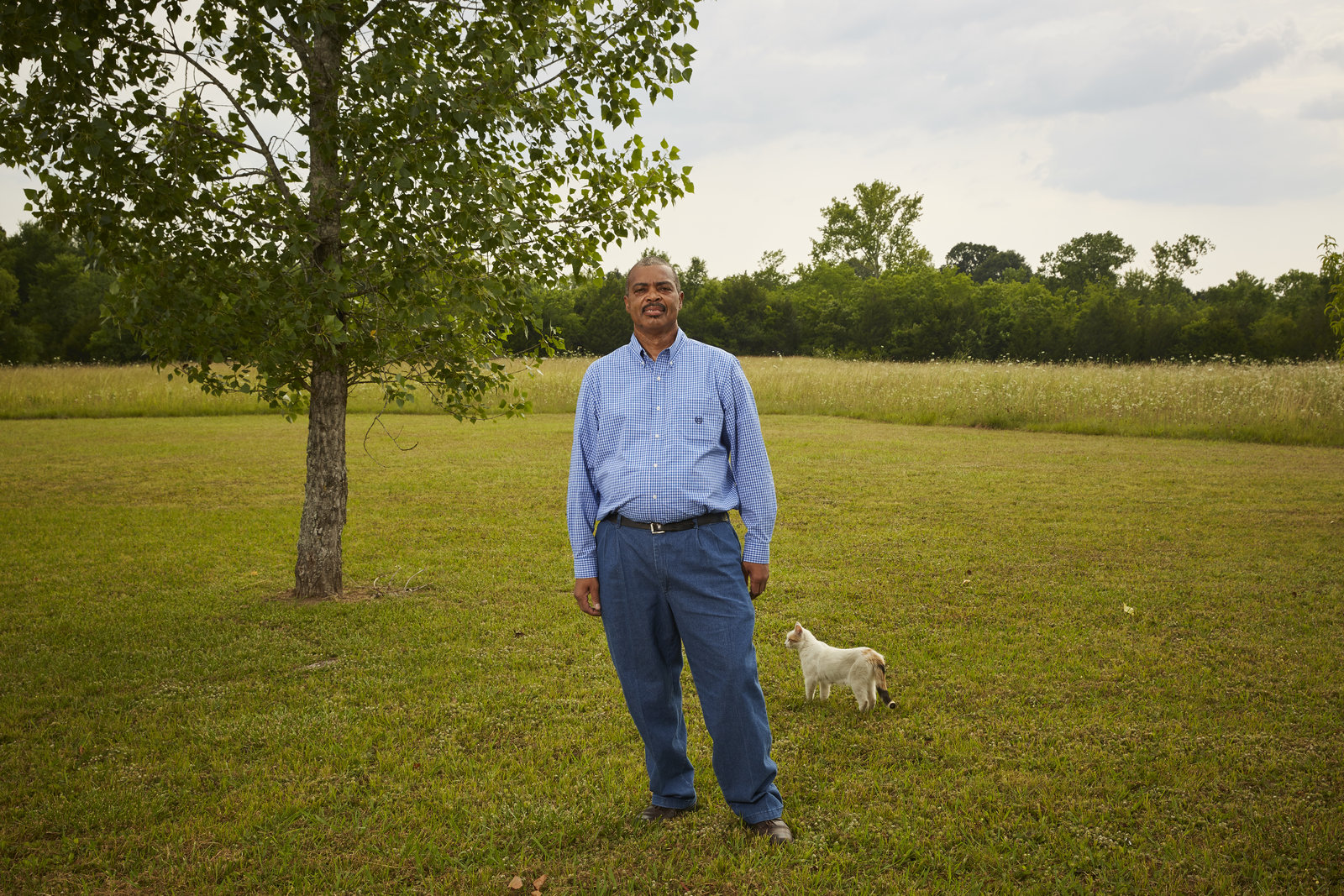 Ben Eaton was one of the Uniontown, Ala., residents sued by a local landfill