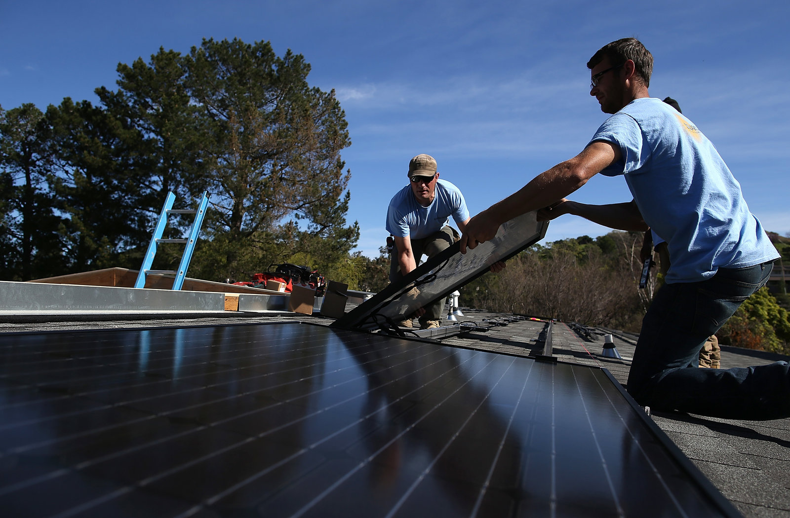 The boom in solar installations has spurred record job growth