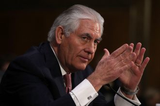 Rex Tillerson was approved by the Senate as secretary of state