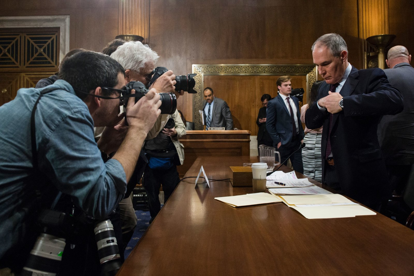 EPA nominee Scott Pruitt faces a lawsuit over communications with fossil fuel companies