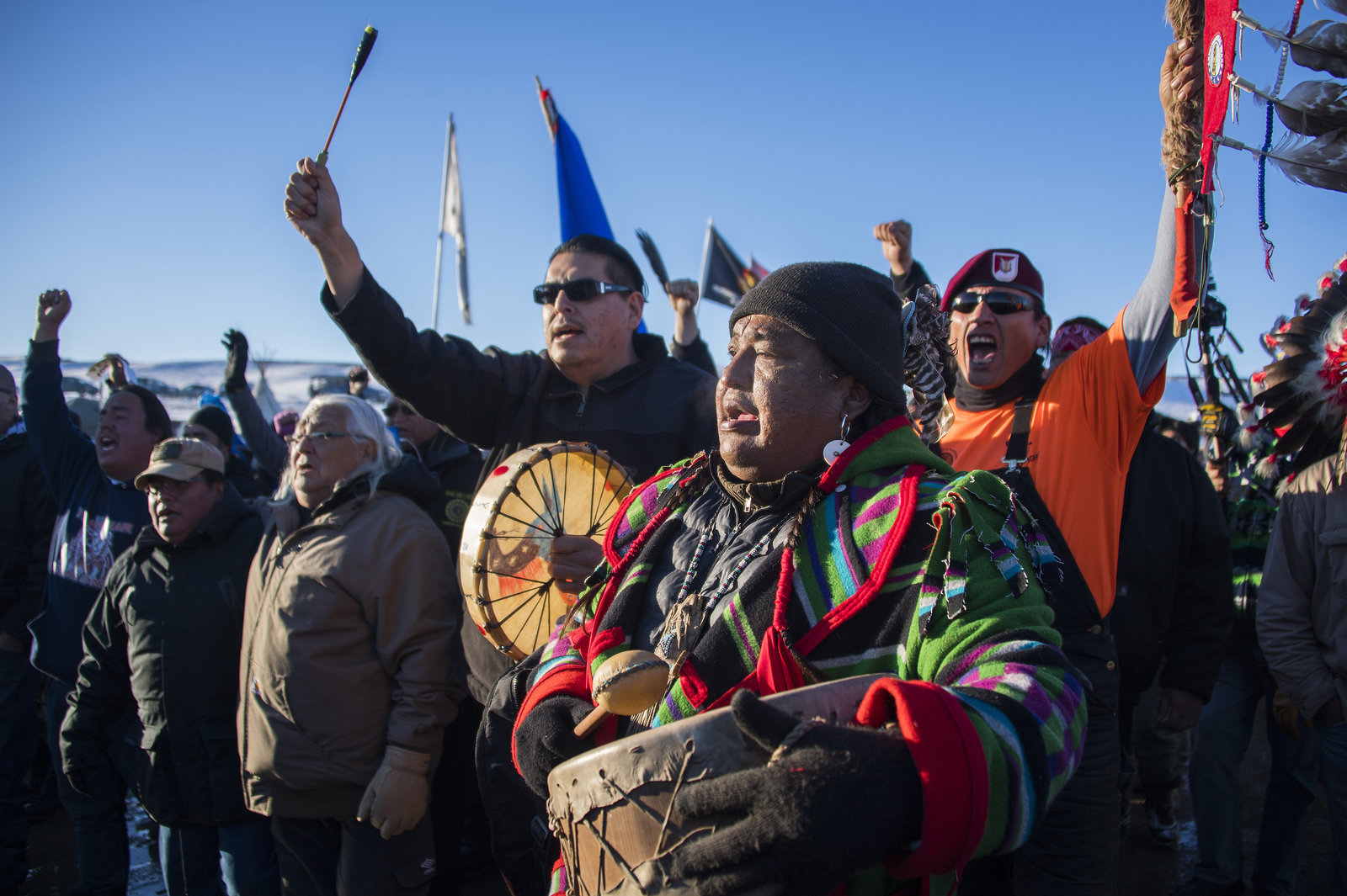 Standing Rock protest against Dakota Access pipeline
