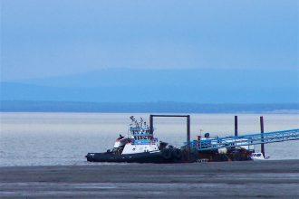Alaska's Cook Inlet has an uncapped gas leak