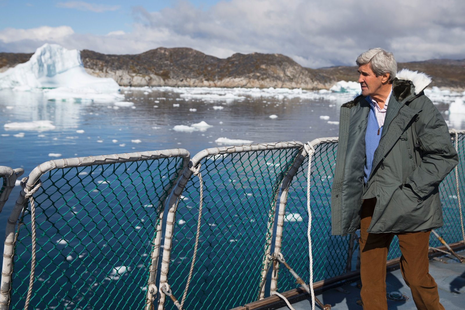 John Kerry visited the Arctic as U.S. secretary of state