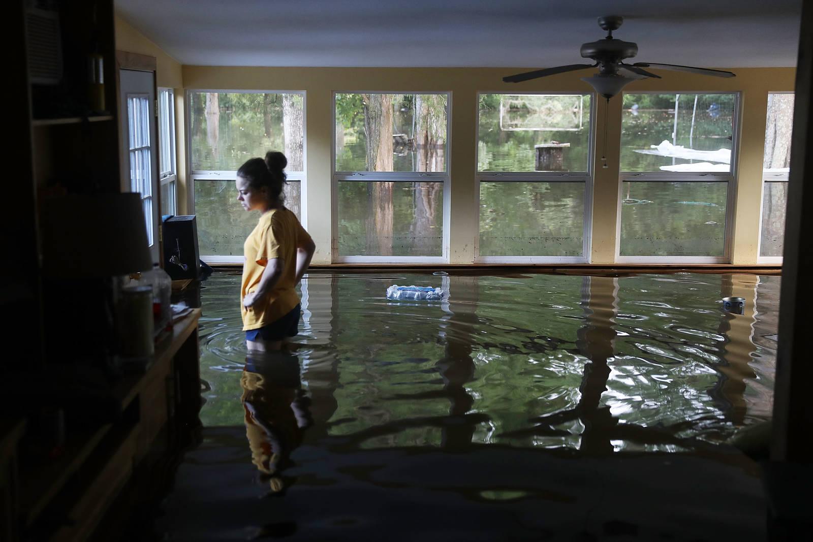 Louisiana floods in 2016