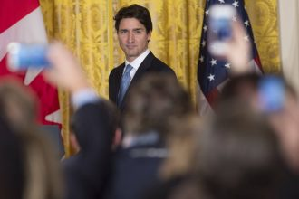 Canadian Prime Minister Justin Trudeau met with Donald Trump in March