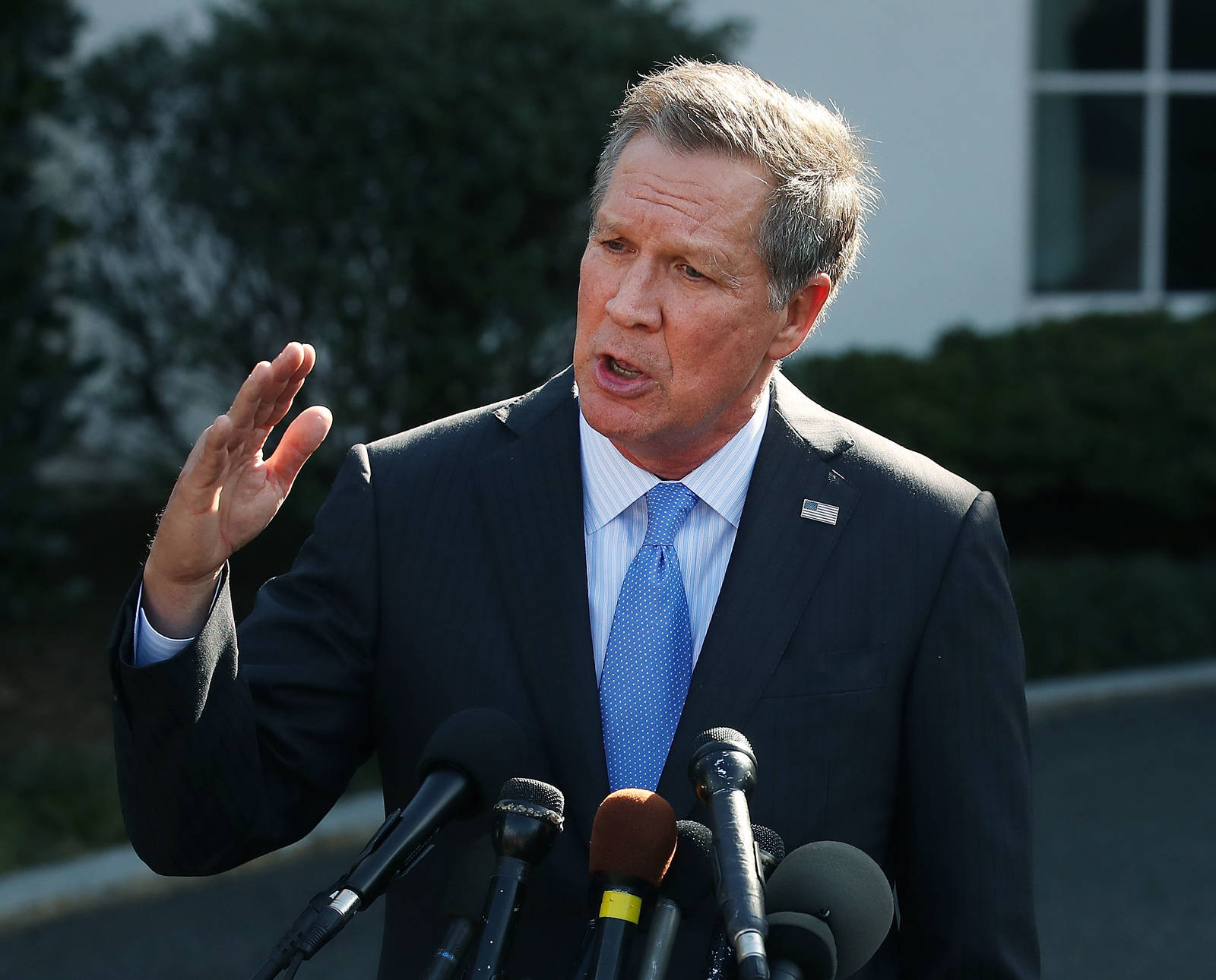 Ohio Gov. John Kasich has championed his state's renewable energy standards