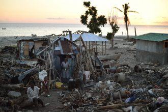 Hurricane Matthew devastated Haiti in 2016