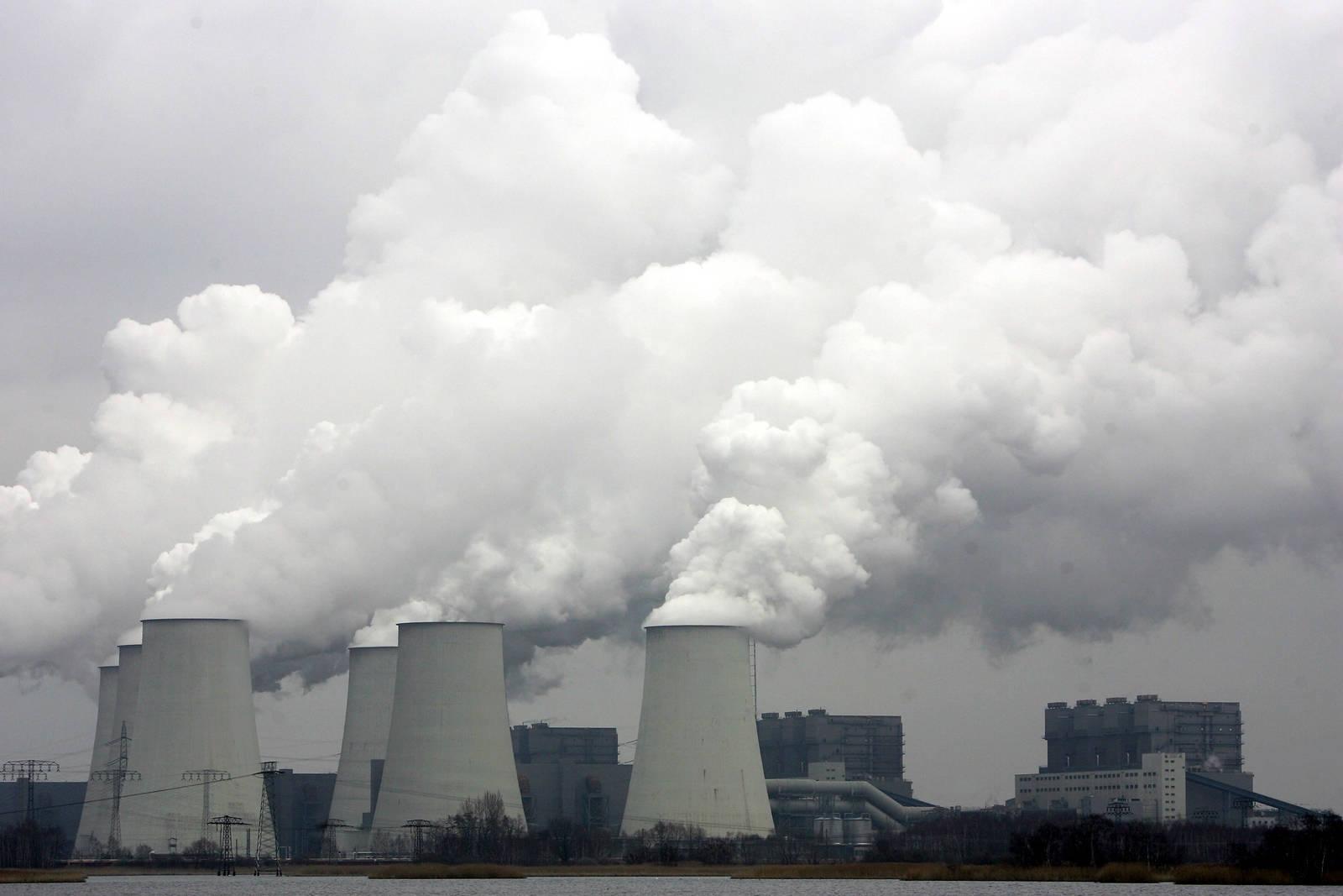 Coal-fired power plant in Jaenschwalde, Germany