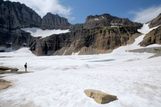 Glacier National Park's glaciers are receding