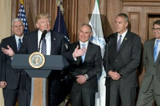Trump's environment and energy appointees have been pro-fossil fuels