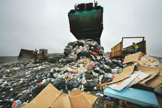 Landfills are a key source of methane emissions