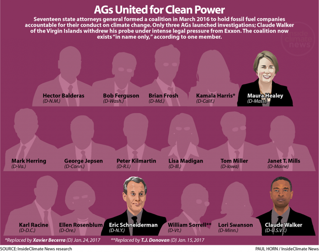 Graphic: AG's United for Clean Power