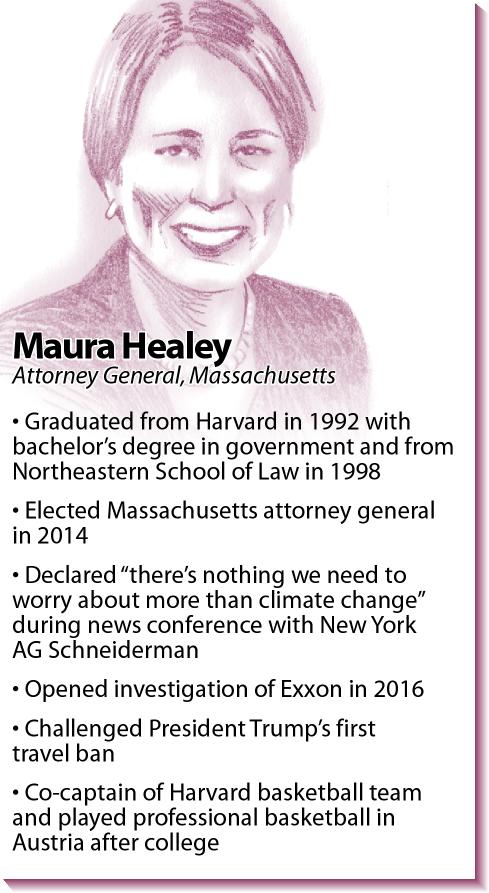 Bio: Massachusetts Attorney General Maura Healey