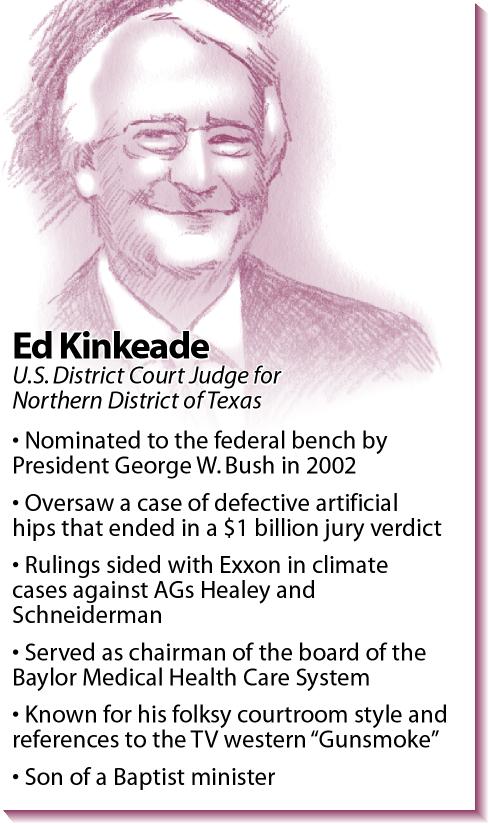 Bio: Federal judge Ed Kinkeade