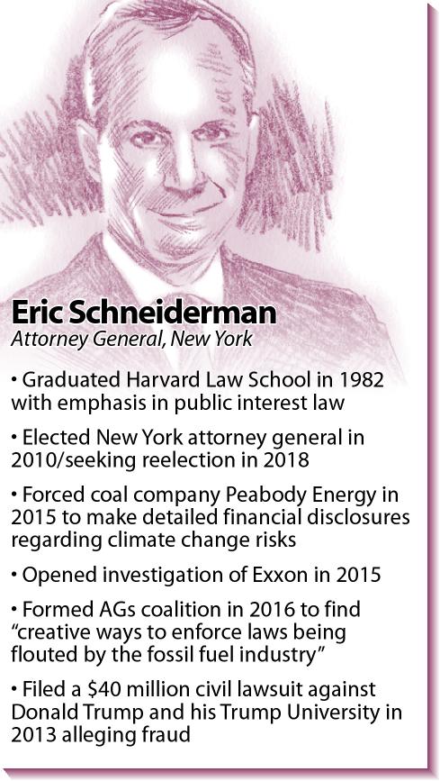 Bio: New York Attorney General Eric Schneiderman
