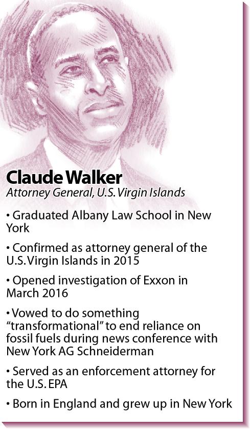 Bio: U.S. Virgin Islands Attorney General Claude Walker