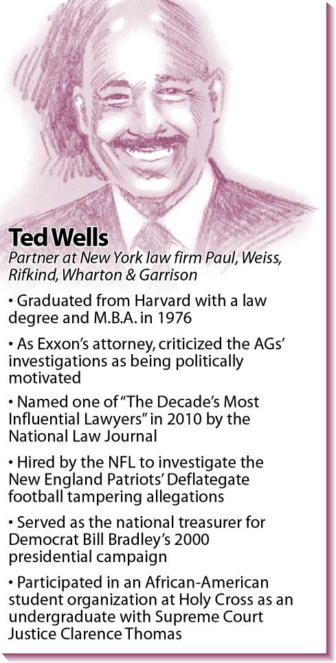 Bio: Exxon lawyer Ted Wells