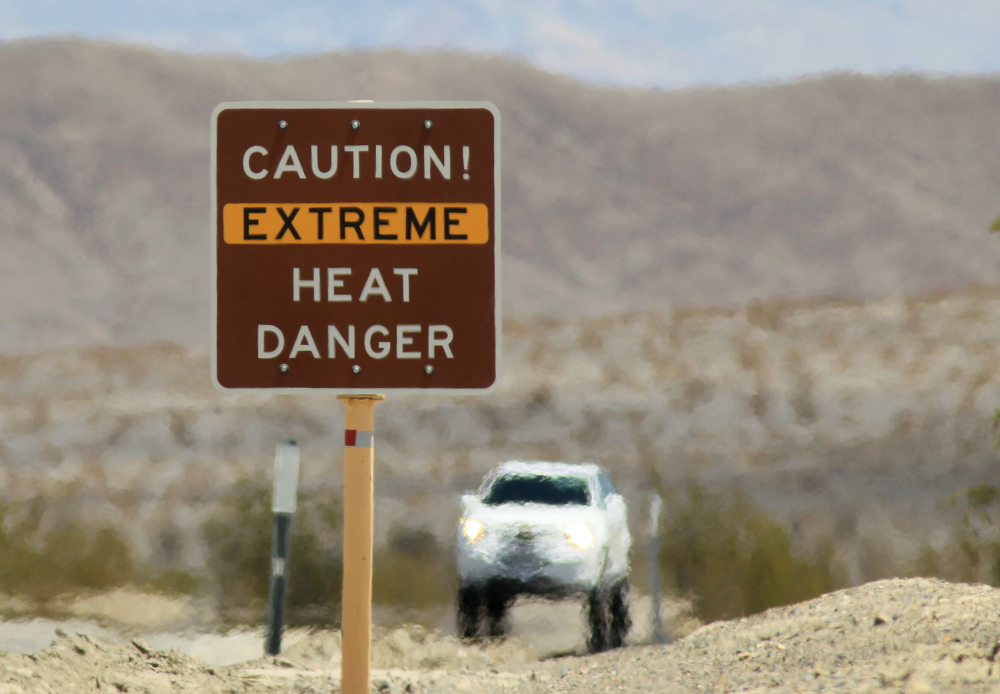Large parts of the U.S. Southwest have been feeling like Death Valley this week.