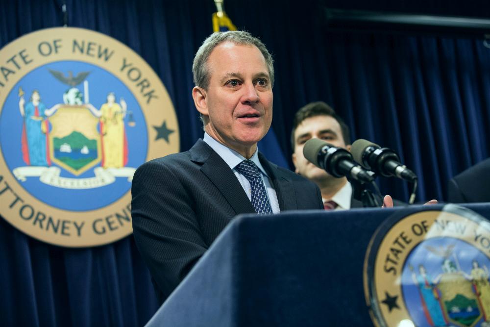 New York Attorney General Eric Schneiderman