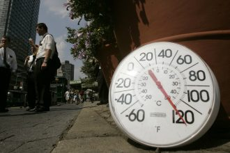 Heat waves will spread farther around the world as global temps rise