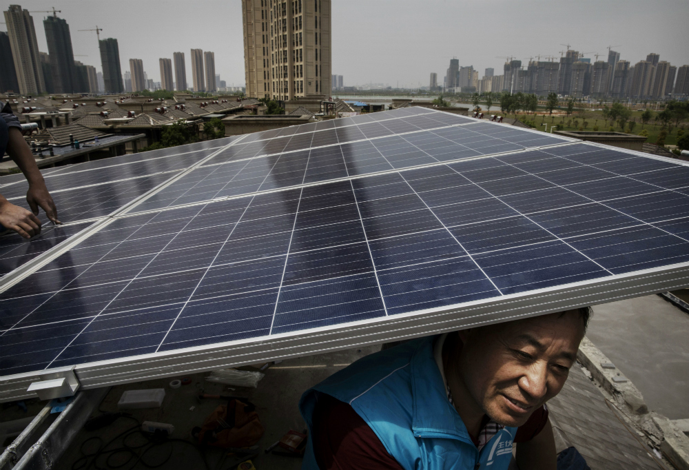 Solar installation in cities