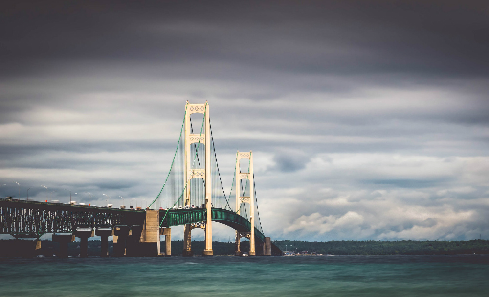 Straits of Mackinac. Credit: Bailiwick Studios/CC-BY-SA-2.0