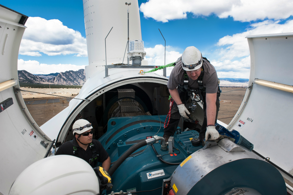 EERE supports wind, solar and other energy technology development.