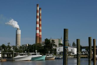 Power plant in Newburg, Maryland. Photo: Mark Wilson/Getty Images