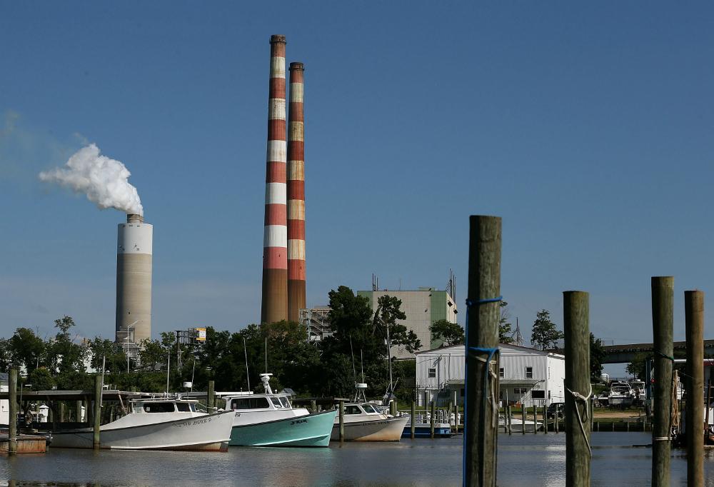 Power plant in Newburg, Maryland. Photo: Mark Wilson/Getty Images