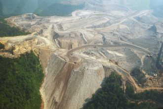 Mountaintop mining in Appalachia. Credit: Mandel Ngan/AFP/Getty Images