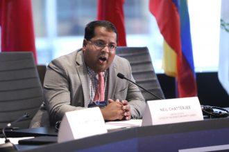Neil Chatterjee, interim FERC chairman. Credit: Ben Hider/Getty Images