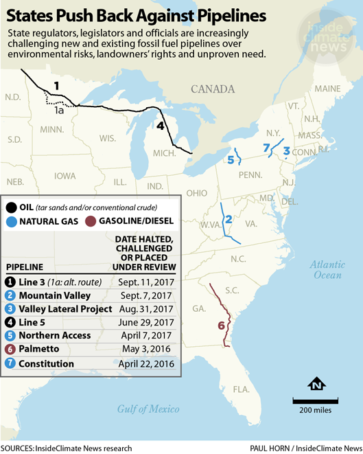 States Push Back Against Pipelines