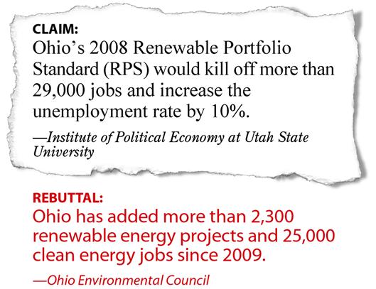 RPS jobs claim and rebuttal.