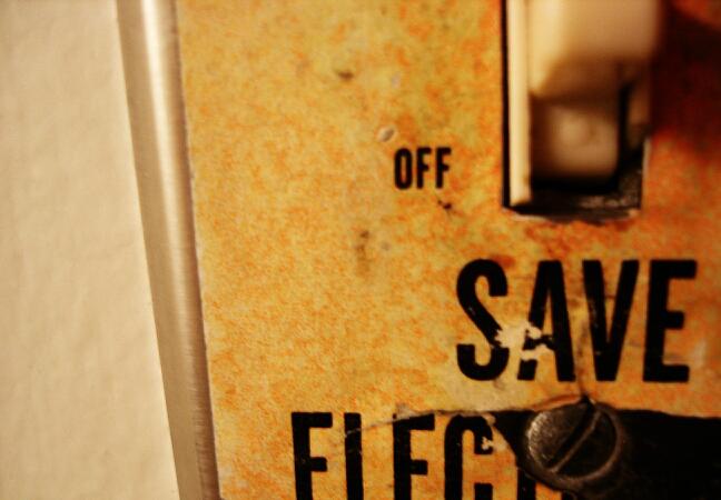 Light switch. Credit: Nils Vik/CC-BY-2.0