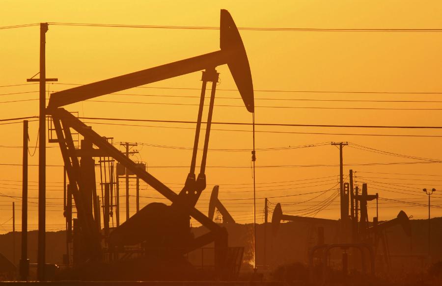 Oil drilling.