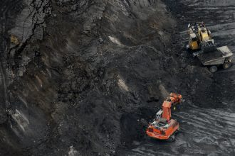 Tar sands excavation in Alberta. Credit: Mark Ralston/Getty Images