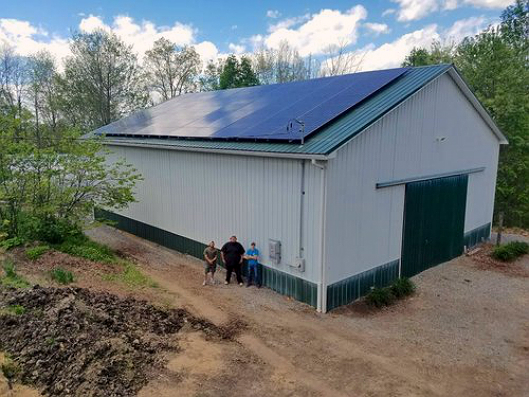 Solar Holler focuses on Appalachia and has created training programs for solar power installers. Credit: Solar Holler
