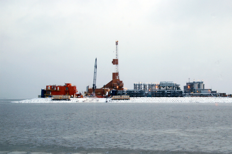 Eni plans to drill for oil from Spy Island, a manmade island off the coast of Alaska. Credit: Bureau of Safety and Environmental Enforcement